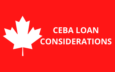 Are you still considering applying for the CEBA Loan?